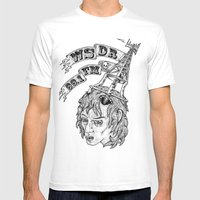 WSDR Mens Fitted Tee White SMALL