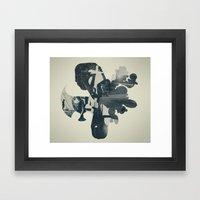 embers of clarity Framed Art Print