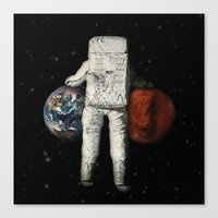 Carry On Canvas Print