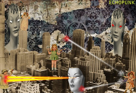 Mannequins VS Paper Dolls Art Print