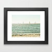 These Summer Days Framed Art Print