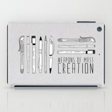 weapons of mass creation iPad Case