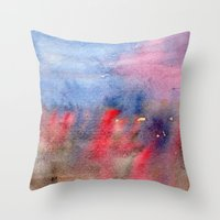Vague Memory Throw Pillow