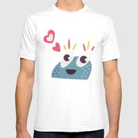 Kawaii Cute Candy Charac… Mens Fitted Tee White SMALL