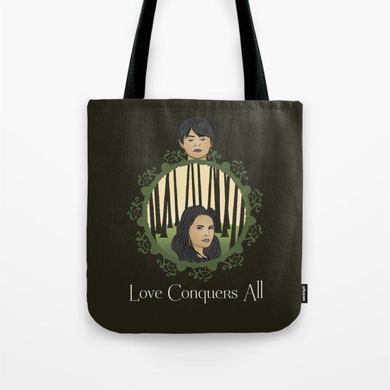 Once Upon A Time - Two Halves, One Whole Tote Bag