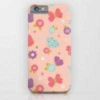Butterfly Garden iPhone 6 Slim Case
