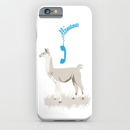 llamame iPhone & iPod Case