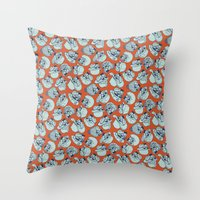 Death Is Among Us... Throw Pillow