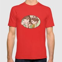 Life's a Picnic, Bring Your Friend Mens Fitted Tee Red SMALL
