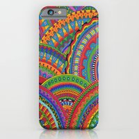 iPhone & iPod Case featuring My brain happy by Tuky Waingan