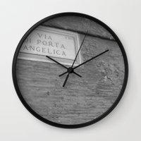 The Door Is Always Open. Wall Clock