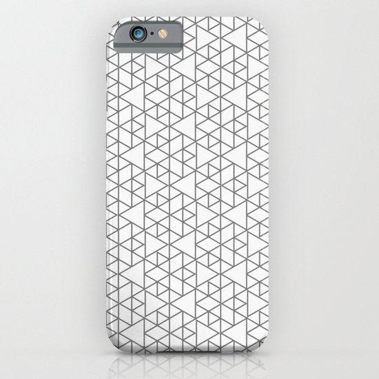Karthuizer Grey & White Pattern iPhone & iPod Case