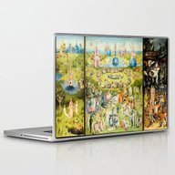 The Garden Of Earthly De… Laptop & iPad Skin