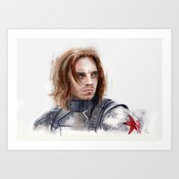 Who the hell is Bucky Art Print