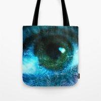 Water Eye Tote Bag