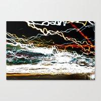 30 Secs Of Chaos Canvas Print