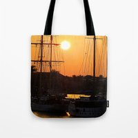 Nadi Harbour, Fiji Tote Bag
