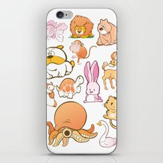 Animals! iPhone & iPod Skin