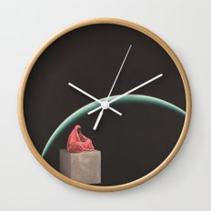 Borders Wall Clock