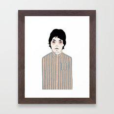 Stripes Framed Art Print