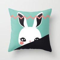 Bunbina 2014 Throw Pillow