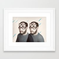 Points of View prints for sale Framed Art Print