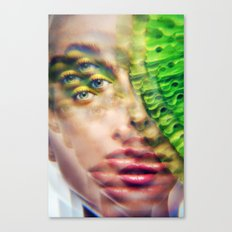 I See the Color Green Canvas Print
