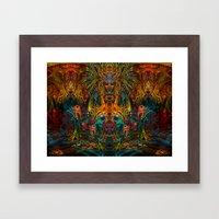 Lemuria Framed Art Print