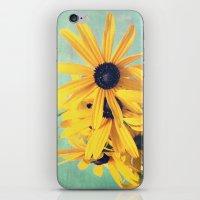 Sweet Yellow Flowers iPhone & iPod Skin