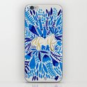 As If – Navy & Gold iPhone & iPod Skin