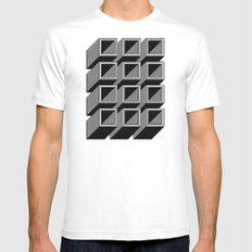 Extrube Mens Fitted Tee SMALL White