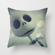 Mr. Jack (Nightmare Before Christmas) Throw Pillow