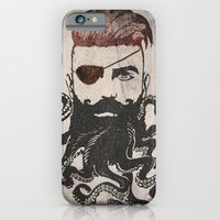 Black Beard iPhone 6 Slim Case
