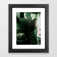 Sage Heart Framed Art Print