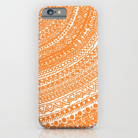 Orange Pulse o3. iPhone & iPod Case