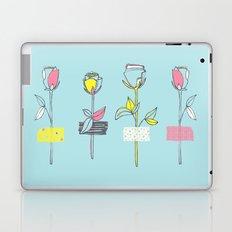 Rosewall (on blue) Laptop & iPad Skin