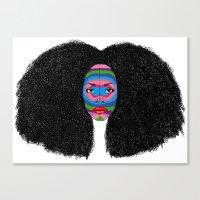 B-Mask Canvas Print