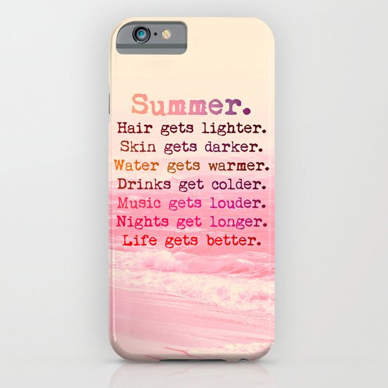 Summer in Pink iPhone & iPod Case