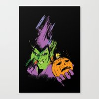 The Green Goblin Canvas Print
