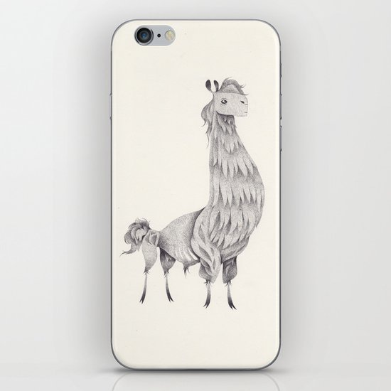 lama iPhone & iPod Skin