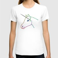 unicorn T-shirts featuring unicorn by gazonula