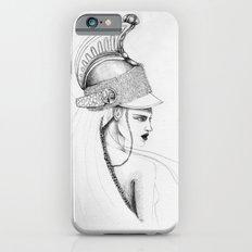 Girl & Helmet iPhone 6 Slim Case