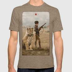 1920 - Kittens Mens Fitted Tee Tri-Coffee SMALL