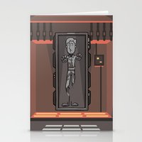 EP6 : Han Solo In Carbon… Stationery Cards