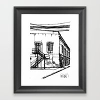LX Factory 1 Framed Art Print