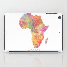 Africa map 2 iPad Case