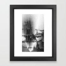 Crumbling Facade Framed Art Print