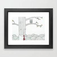 Evaluation Framed Art Print