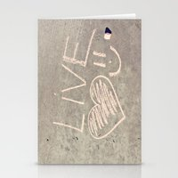 Live Love and Smile Often Stationery Cards