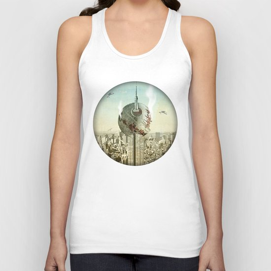 impaled on the empire Unisex Tank Top